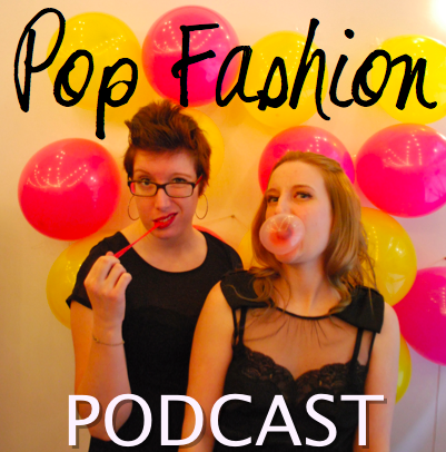 "You can go to iTunes and search for ""Pop Fashion."" This is our cover art!"