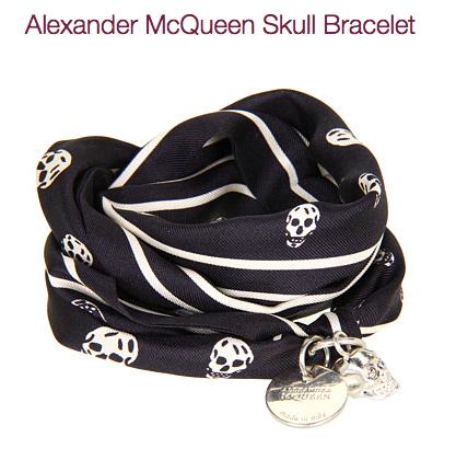 DIY Alexander McQueen Scarf Bracelet