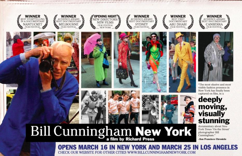 Summer of Fashion Documentaries: Bill Cunningham New York