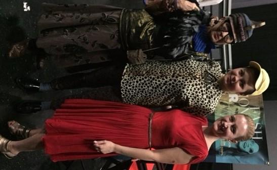 Advanced Style Star Debra Rapoport and Director, Lina Plioplyte