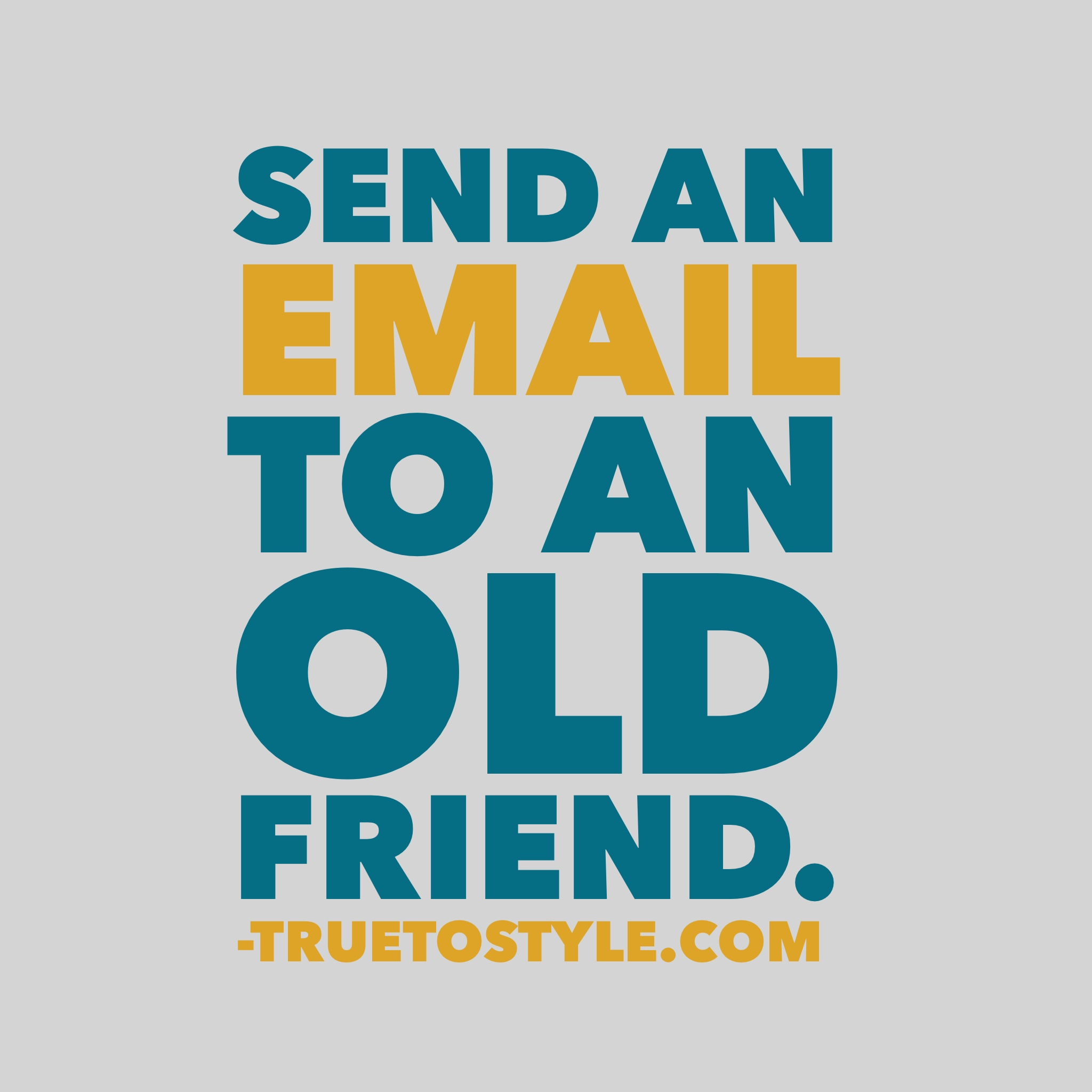 Email an Old Friend Challenge