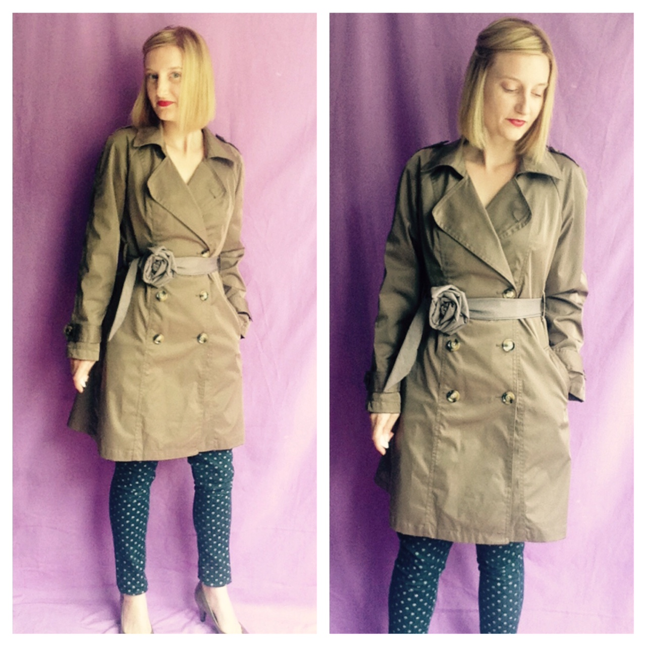 Classic Trench Coat - Fashion Wardrobe Basic