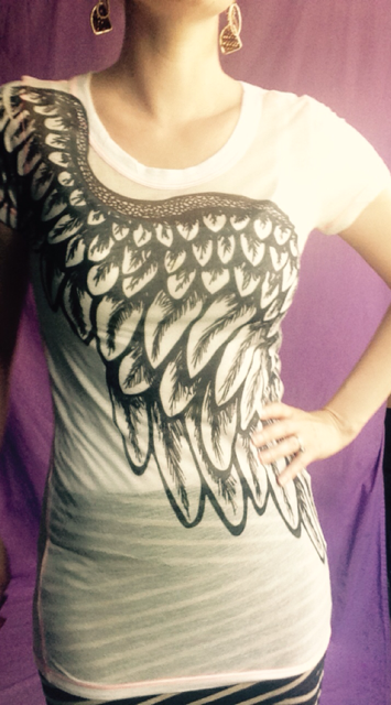 Outfit of the Day - Angel Wing T-Shirt