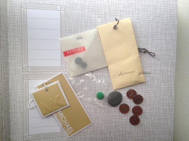 DIY Button Book Wardrobe Helper
