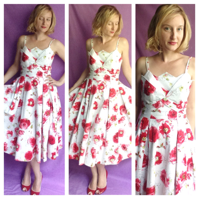 Outfit of the Day - Garden Party Dress