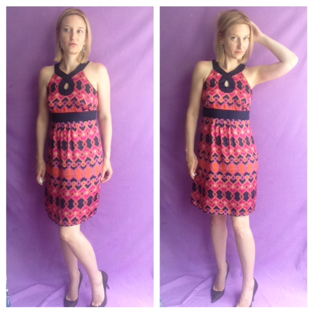 Outfit of the Day - Pattern Dress