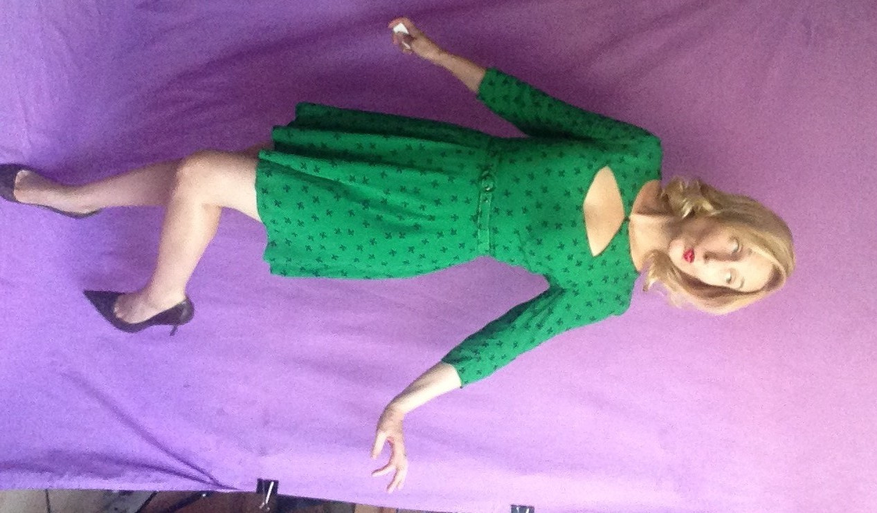 Green Outfit Outtake