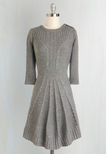 ModCloth Sweater Dress