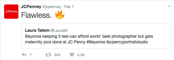 JCPenney + Beyonce Wins