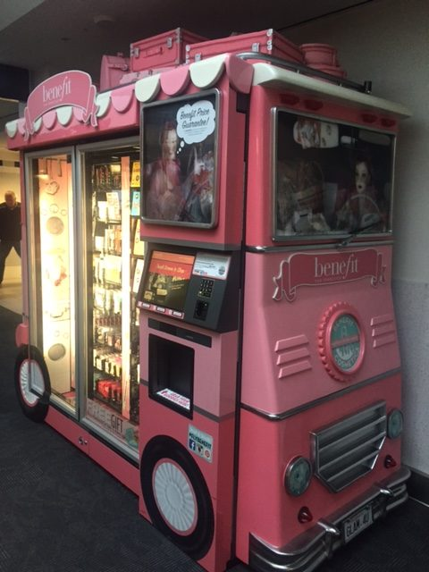 Benefit Beauty Truck