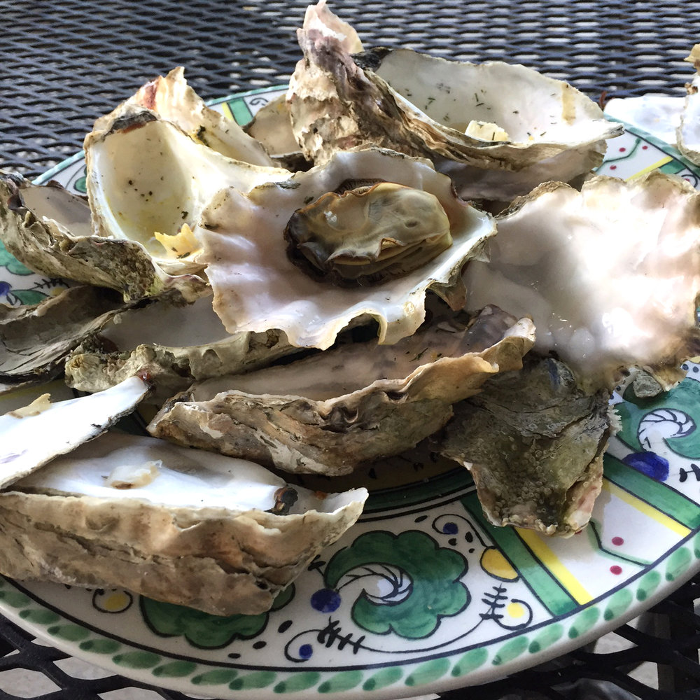 We finished these oysters off in about 5 minutes. Too good!