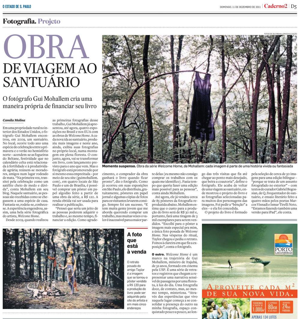 Estadão | Dezembro de 2011