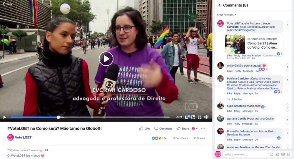 Rede Globo, 9min, Cor