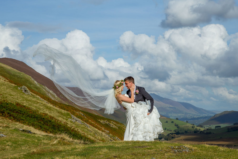 Wedding Photography North East, Durham, Newcastle - Stephen Matthews Photography - Lake District Bride & Groom