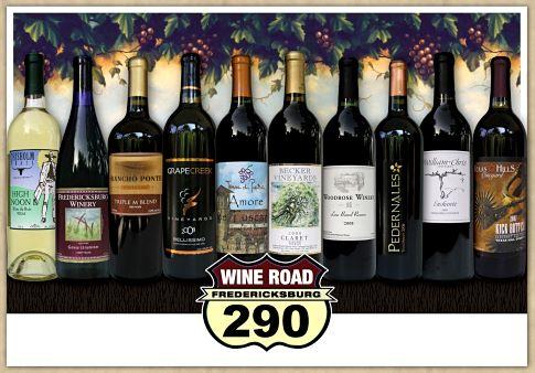 fredericksburg wine road 290