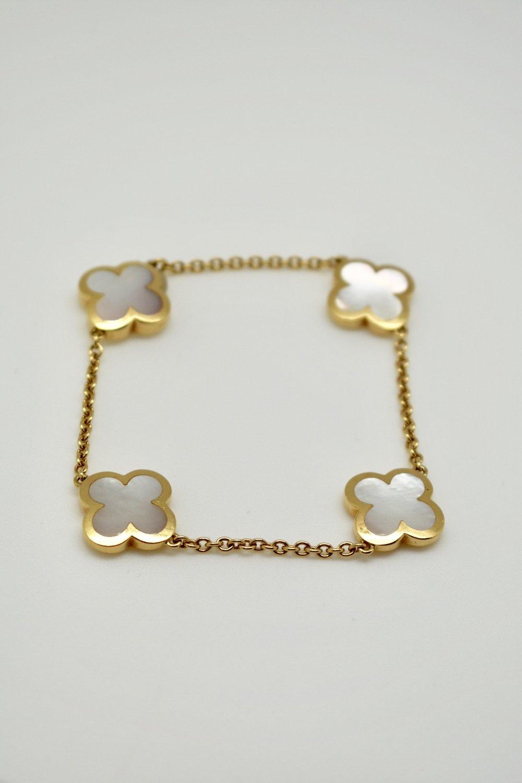 Van Cleef Arpels Pure Alhambra Bracelet Briony Raymond New York