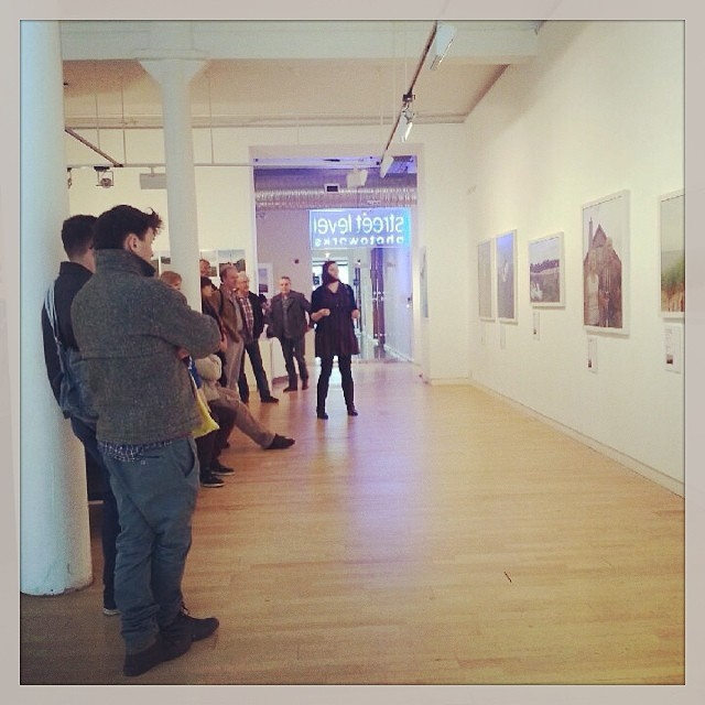 Gallery talk for 'Industries' / 'Menie:TRUMPED' exhibition at Street Level Photoworks