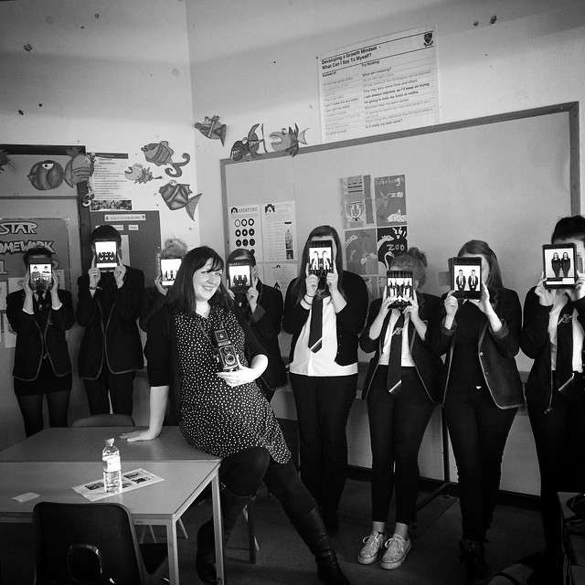 Diane Arbus Workshops with Art & Design students at Lochgelly High School, Fife.   Using iPads, apps and traditional TLR cameras too.   The students exhibited this work at Kirkcaldy Art Gallery and Museum as part of ARTIST ROOMS More info and images on Tate blog.