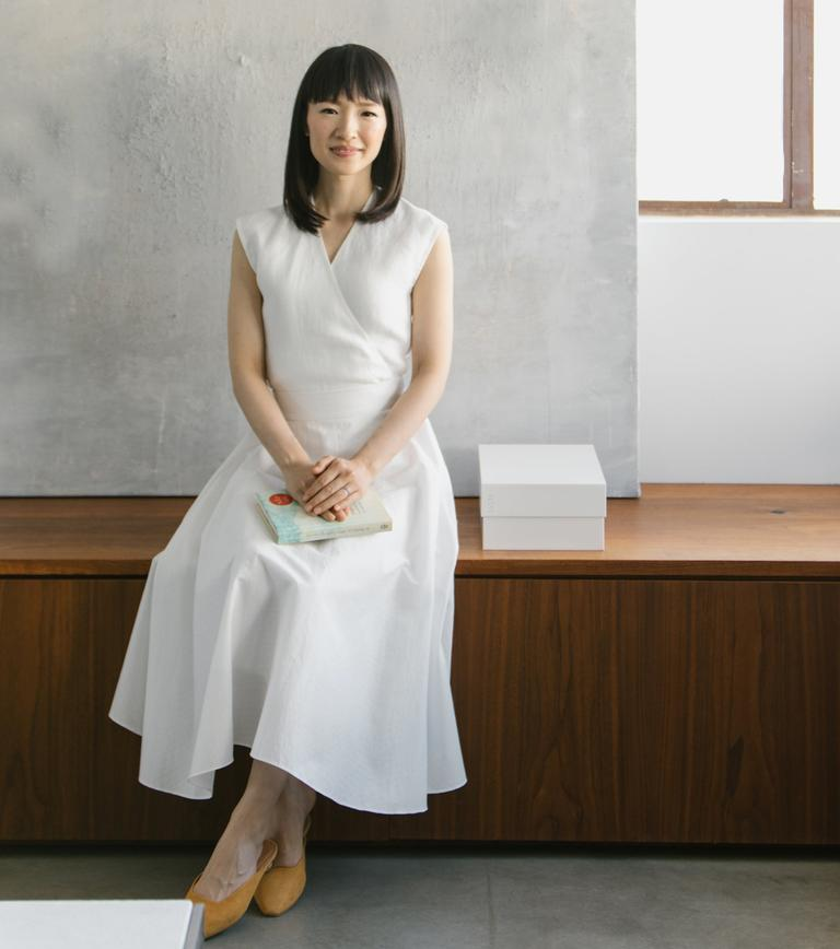 "Marie Kondo and her Netflix show ""Tidying Up With Marie Kondo"""