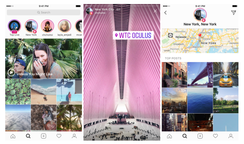 Example of Location Stories | Photo: Instagram Blog