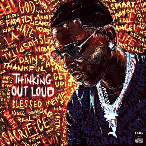 Young Dolph - Thinking Out Loud Album Cover