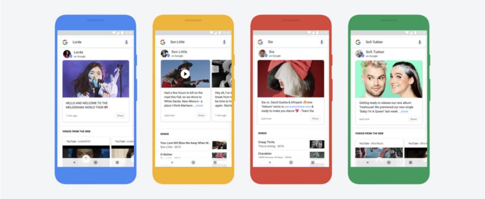 Google Musicians Search