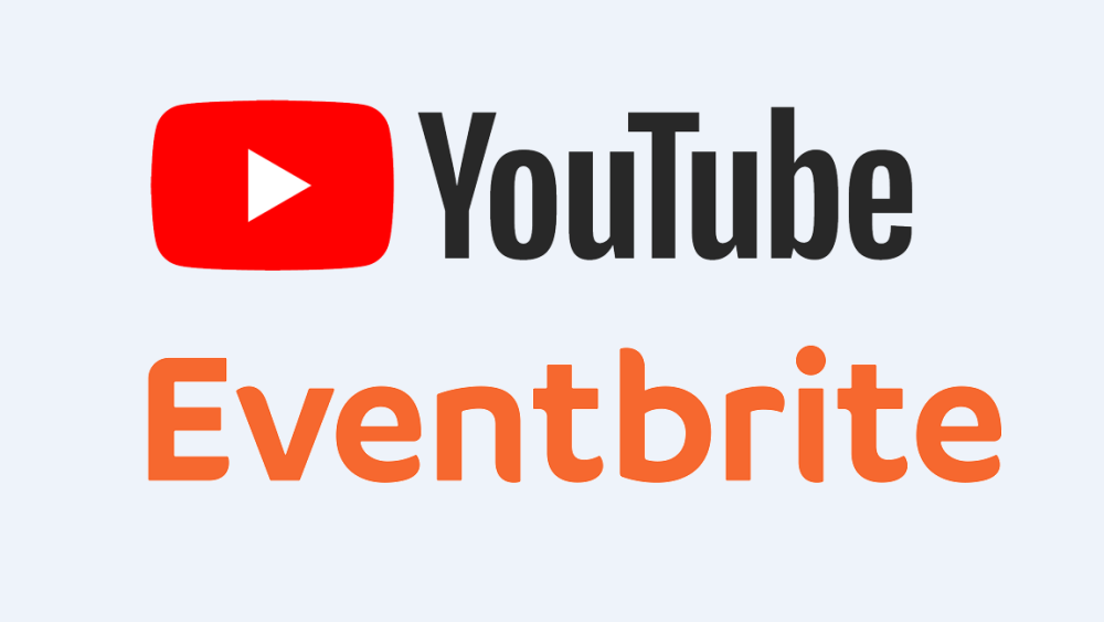 YouTube Eventbrite New Partnership