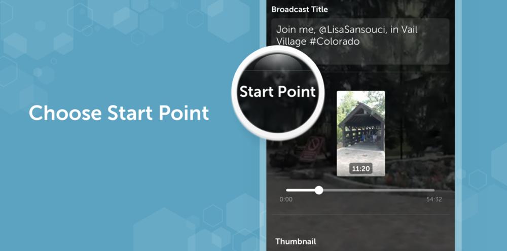 Periscope Choose Start Point