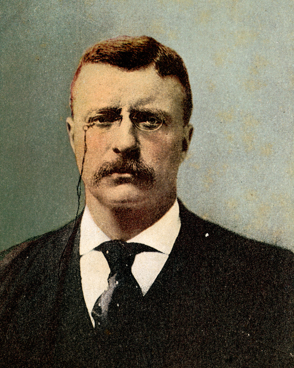 Theodore Roosevelt, by Detroit Photographic Co., 1902. Public domain from the New York Public Library Digital Collections.