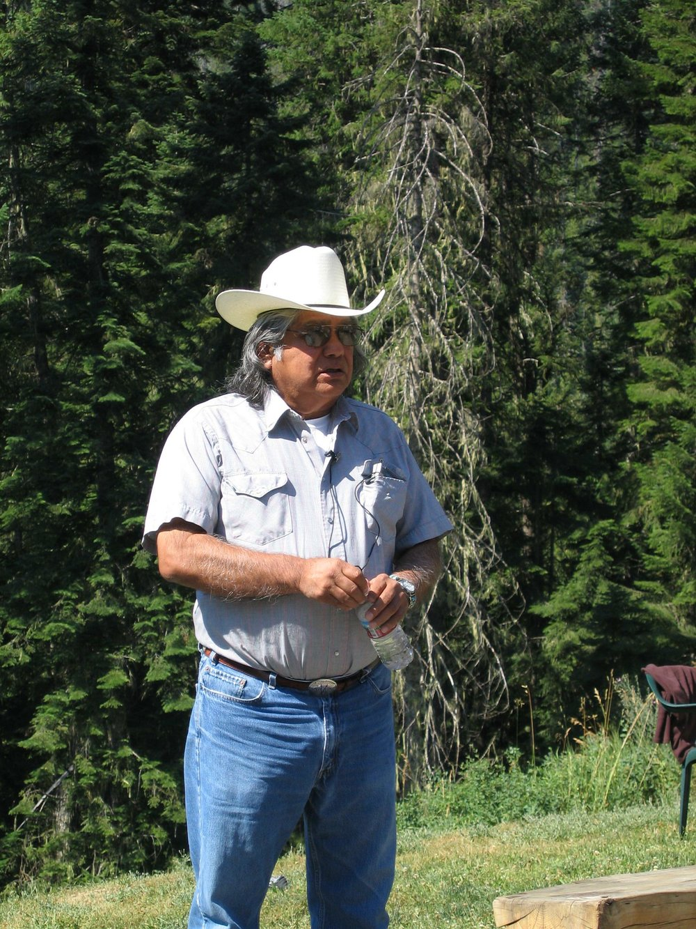 Lewis & Clark, RIVER OF NO RETURN Summer Tour 2019:  Allen Pinkham Sr. ~ Respected tribal statesman of the Nez Perce nation will be your lead scholar for the duration of your tour. Great great grand nephew of Chief Joseph, descendant of Red Bear and Cut Nose both mentioned in the L&C journals. Co-author with Steve Evans LEWIS AND CLARK AMONG THE NEZ PERCE  Strangers in the Land of the Nimiipuu