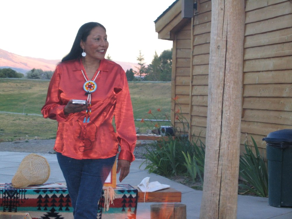 Lewis & Clark, RIVER OF NO RETURN Summer Tour 2019: Roseann Abrahamson ~ Respected tribal stateswoman of the Lemhi-Shoshone nation (Sacajawea's people). Great great grand neice of Sacajawea, descendant of Camehwait (Sacajawea's brother).