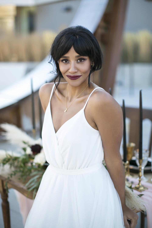 modern chic bride