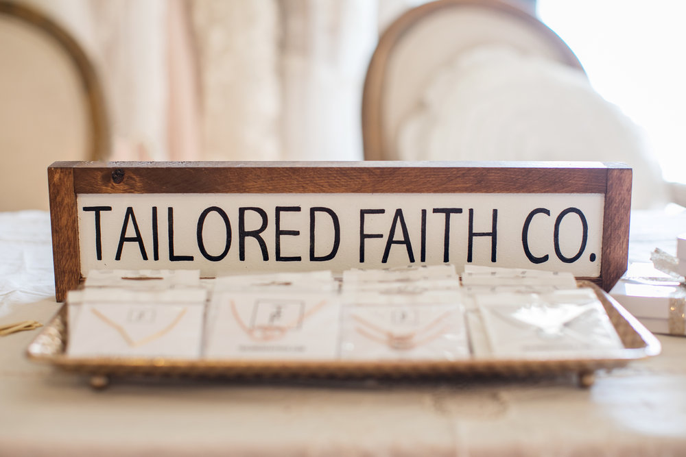tailored faith co. jewelry