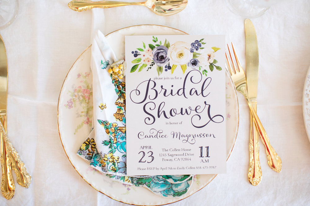 A Bridal Shower Checklist  The Vintage Lease
