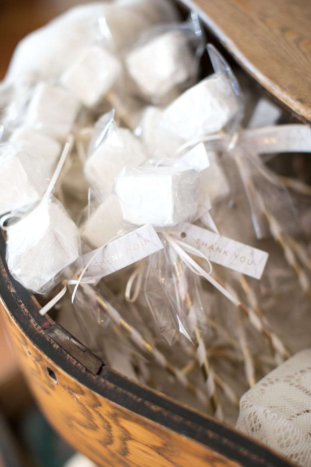 bridal shower favors from fireside s'mores