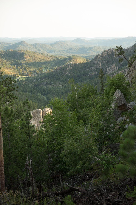 Black Hills clifftop elopement
