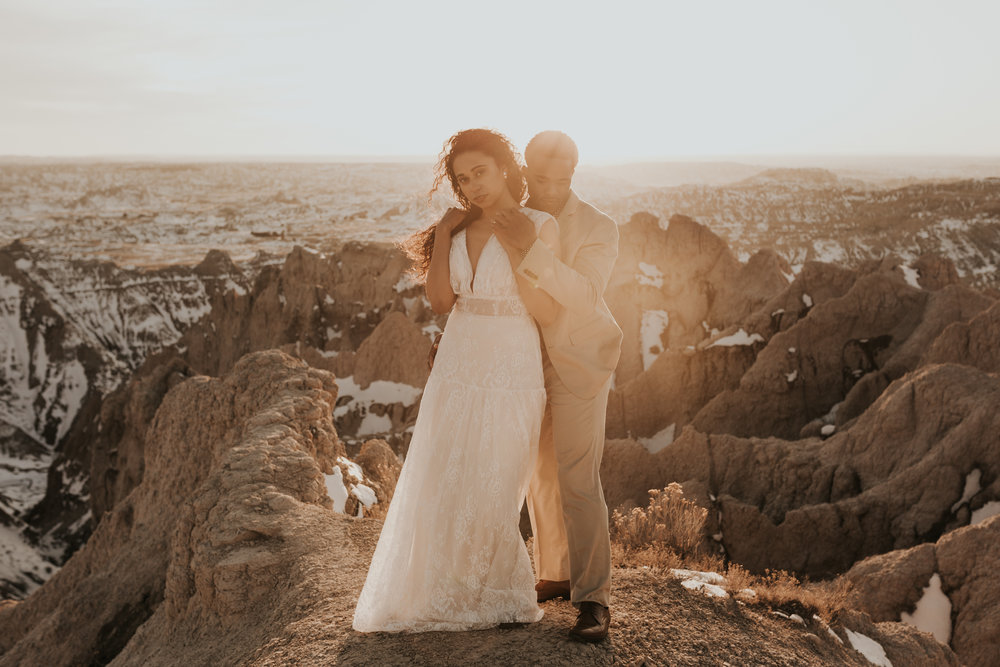 black hills elopement