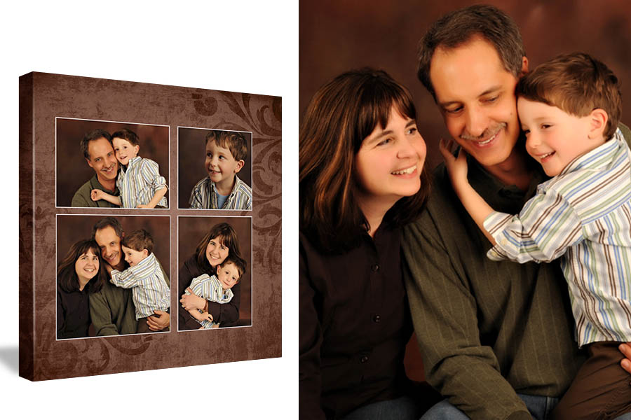 Family Portrait at Studio B Issaquah