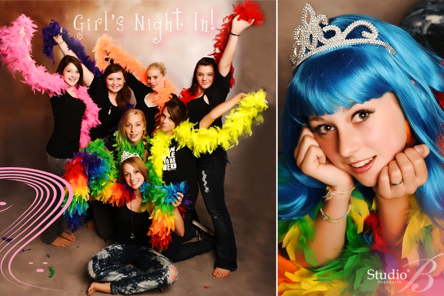 Girls Night In Birthday Party at Studio B Portraits