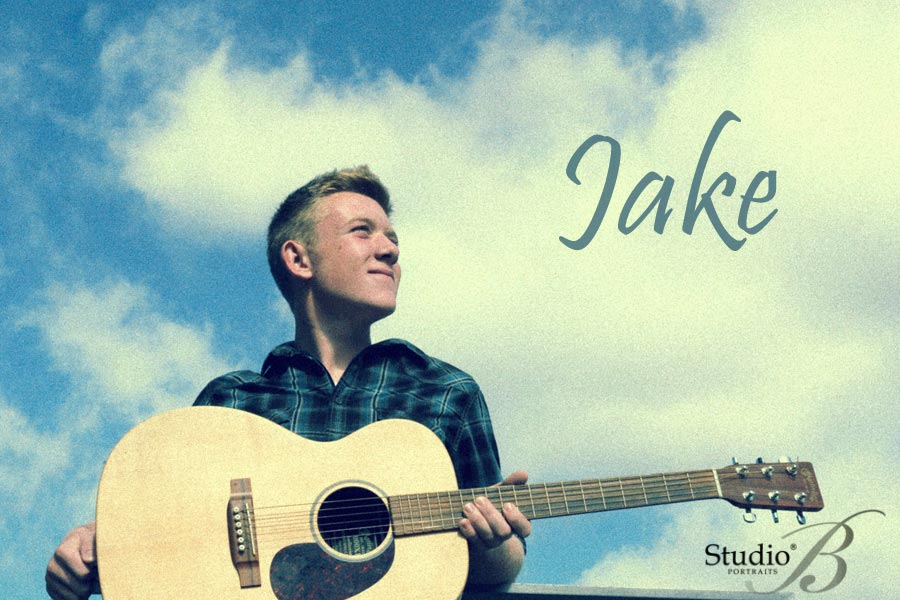 Senior Pictures for Inter-Lake High School student Jake at Studio B Portraits