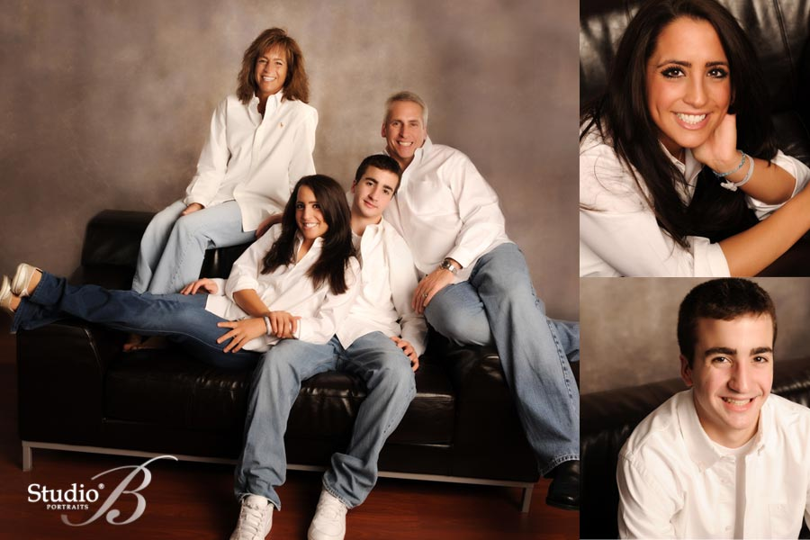 holiday family portraits at studio b portraits in issaquah