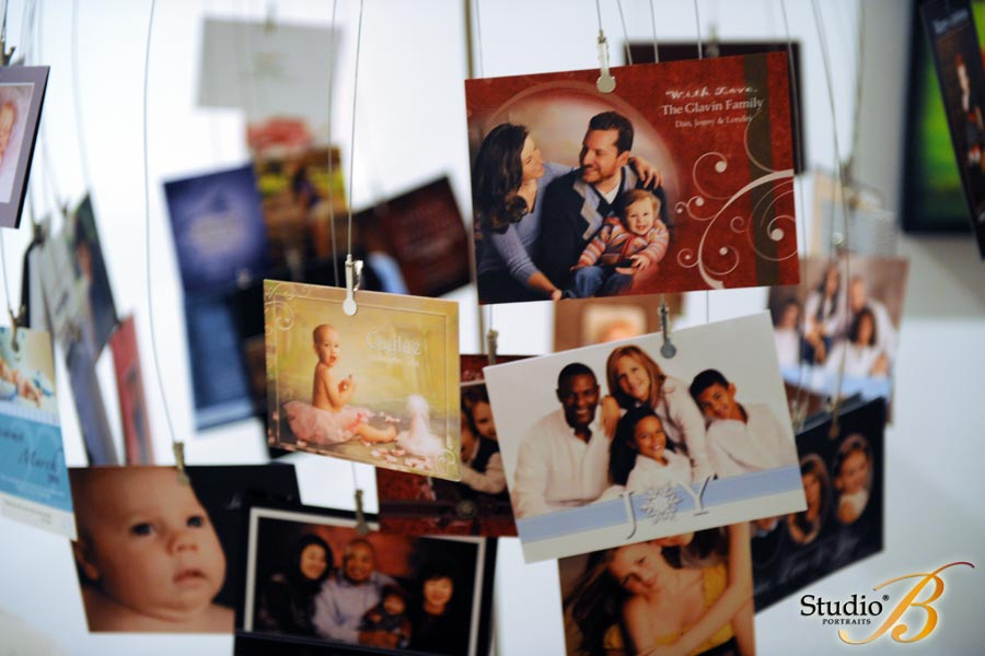 Custom Holiday Cards at Studio B Portraits