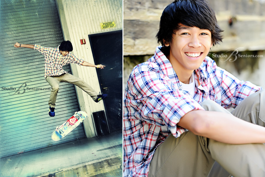 Best-Senior-Pictures-in-Seattle-of-Eastlake-Sammamish-High-School-boy-doing-skateboard-trick