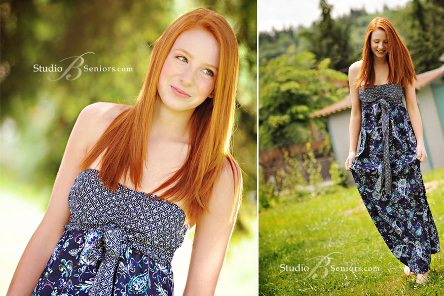 Pretty-teenage-red-head-walking-in-the-grass-in-a-maxi-dress-barefoot