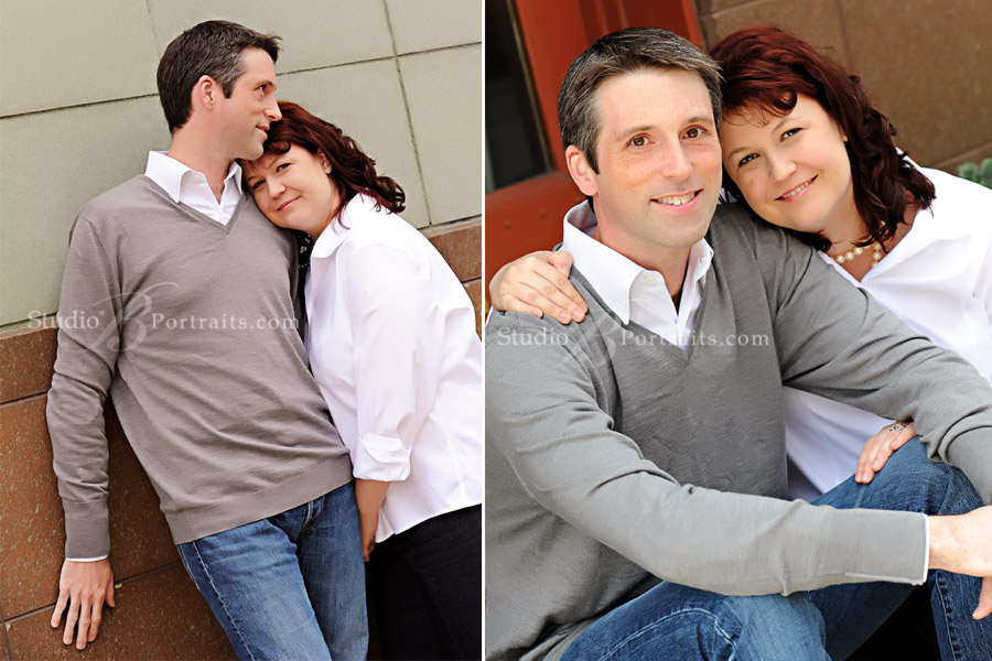 Attractive-man-and-wife-photographed-in-Issaquah-WA-photographed-at-Studio-B-Portraits