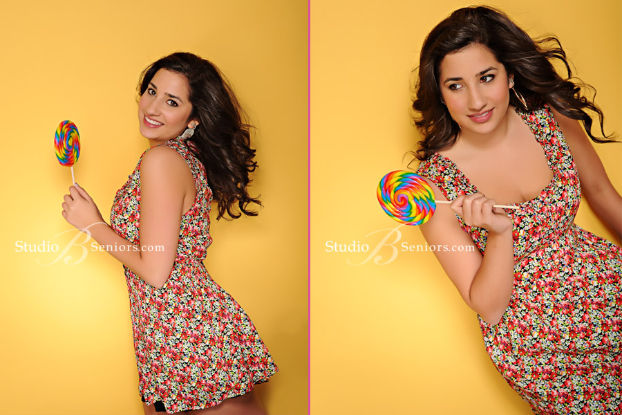 Fun-senior-pictures-in-Seattle-of-Issaquah-High-School-Class-of-2012-teen-with-a-lollipop