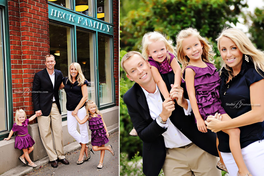 Beautiful-Family-Portraits-Outdoors in Issaquah near Sammamish