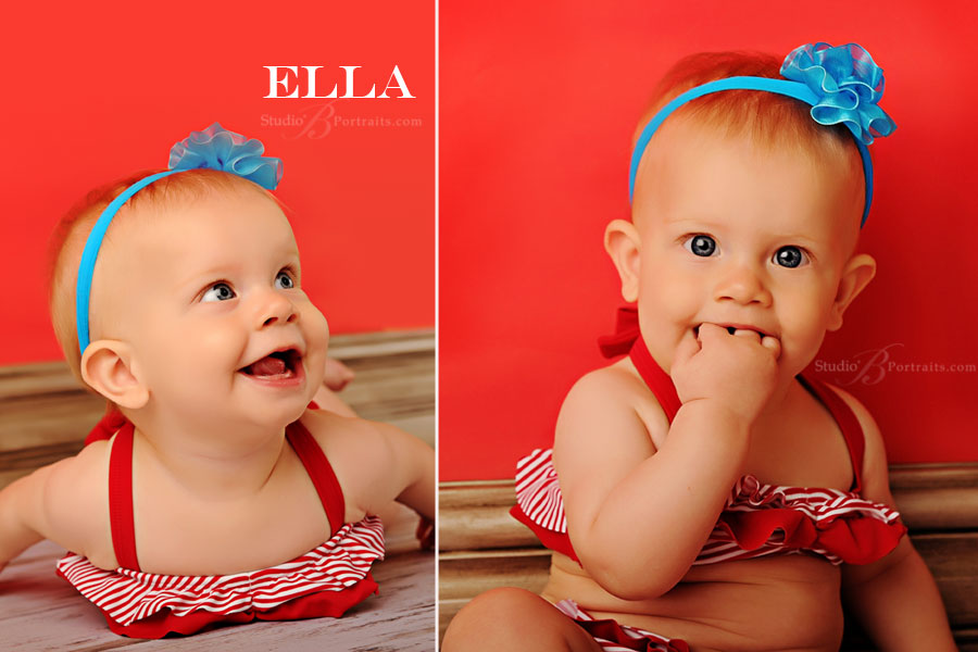 Cute-baby-portraits-in-a-swimsuit-laughing-at-Studio-B-in-Issaquah