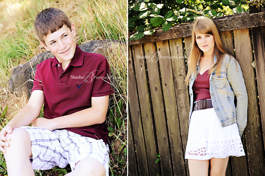 Issaquah-family-portraits-of-teens-outside-looking-cool