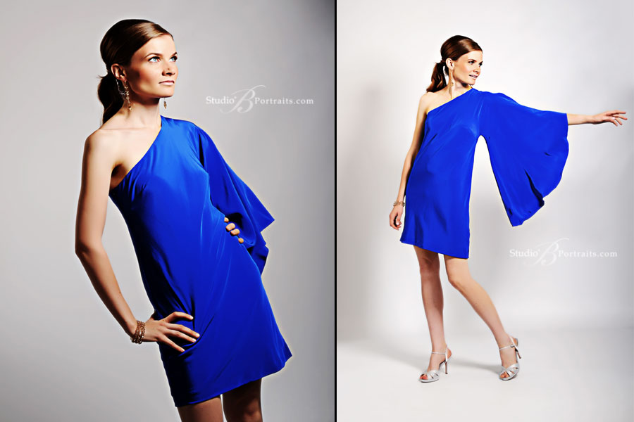 Professional-modeling-photographer-photographing-gorgeous-girl-in-blue-gown